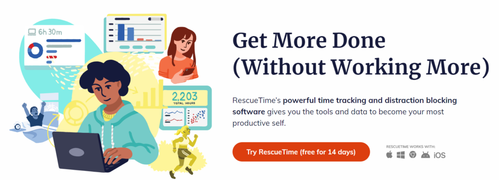 Rescue Time App to Block Websites